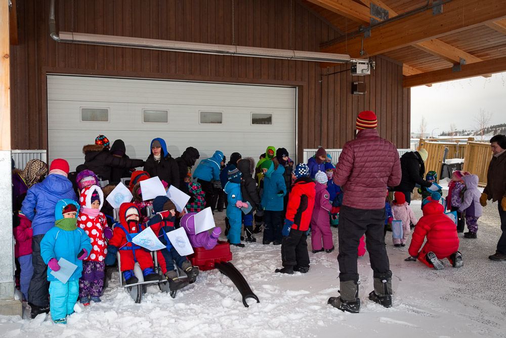 UN Day of the Child event, Yukon Montessori